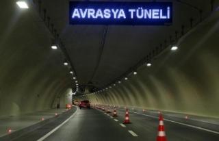 'Avrasya Tüneli ve Yavuz Sultan Selim Köprüsü...