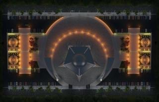 'Ay yıldız' şeklindeki cami Sivas'tan...