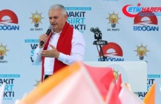 Başbakan Yıldırım: Terör Türkiye'nin gündeminden...