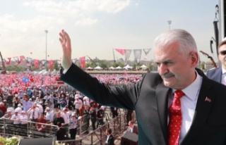 Başbakan Yıldırım: Filistin Türkiye'nin...