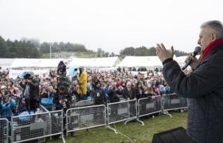 Başbakan Yıldırım: Gençlerimiz ülkemizin bugününün...