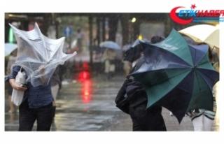 Başkent'te sağanak yağış