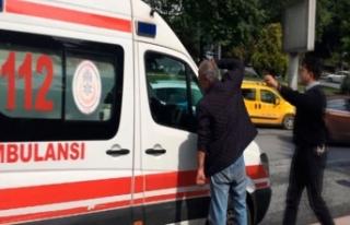Beşiktaş'ta polis ve sağlık ekibinin zor...