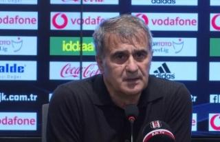 Beşiktaş Teknik Direktörü Güneş: Beklentilerimizin...