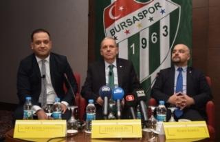 Bursaspor başkan adayından 50 milyon euro'luk...