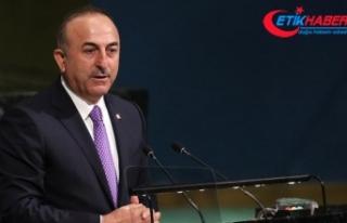 Çavuşoğlu: Bağımsız Filistin devletinin tanıması...