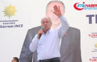 CHP'nin cumhurbaşkanı adayı İnce: 81 milyonun...