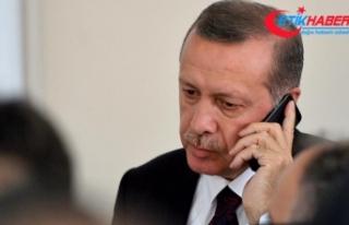 Cumhurbaşkanı Erdoğan'dan Kudüs için telefon...