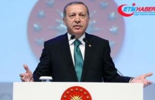 Cumhurbaşkanı Erdoğan: Heveslerini kursaklarında...
