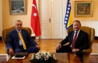 Cumhurbaşkanı Erdoğan, İzzetbegovic ile bir araya...