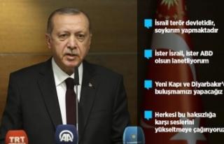 Cumhurbaşkanı Erdoğan: Kudüs'ü kaybettiğimiz...