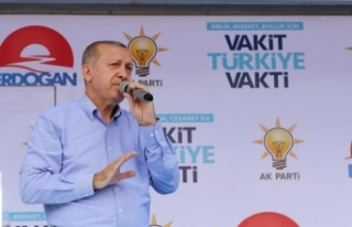 Cumhurbaşkanı Erdoğan: Kurla bizi vuramazsınız