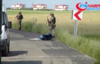 Diyarbakır'da yola tuzaklanan patlayıcı infilak...