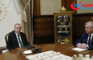 Erdoğan Putin'in özel temsilcisini kabul etti