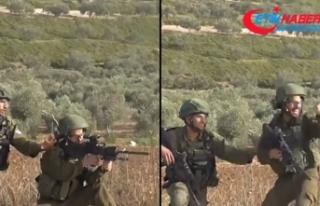 Filistinli genci vurup kahkaha attı