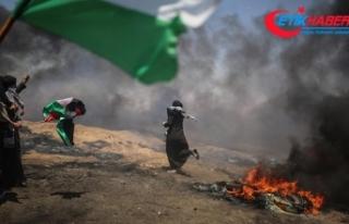 Gazze'de şehit edilen Filistinli sayısı 60'a...