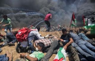 Gazze'de şehit edilen Filistinli sayısı 41'e...