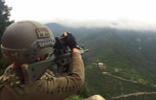 Giresun'da çatışma çıktı: 2 PKK'lı...