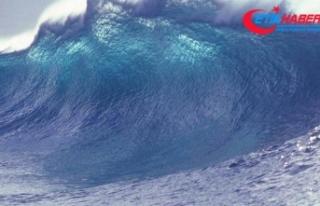 Güney Yarım Küre'nin en büyük dalga boyu...