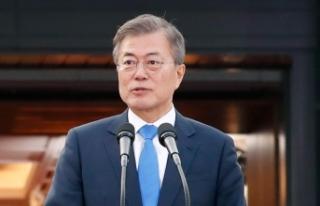 Güney Kore lideri, Trump-Kim zirvesini televizyondan...