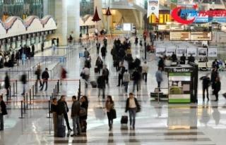 İstanbul'dan 4 ayda 32 milyondan fazla yolcu...