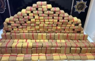 İstanbul'da 80 kilo 500 gram uyuşturucu ele...