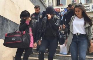 İstanbul'da fuhuş operasyonu: Biri hamile 15...