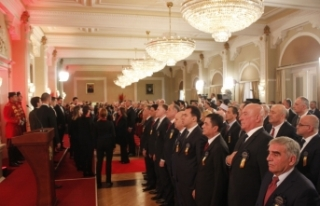 Karadağ Cumhurbaşkanı Djukanovic yemin ederek göreve...