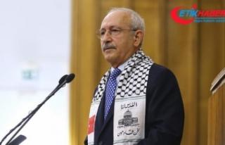 Kılıçdaroğlu: Arap dünyası Filistin'e bizim...