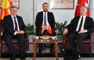 Makedonya Cumhurbaşkanı Ivanov, Sivas'ta