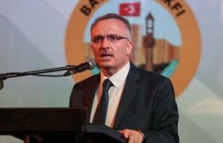 Maliye Bakanı Ağbal: Milletçe önümüzde büyük...