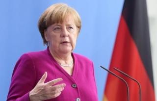 Merkel'den ABD Başkanı Donald Trump'a...