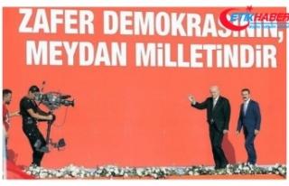 MHP Lideri Bahçeli, Yenikapı'da 'Zulme Lanet,...