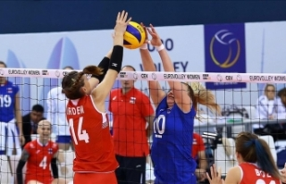 Milli Kadın Voleybol Takımı FIVB Ligi'nde...