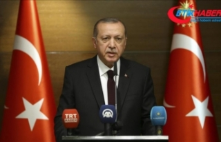 'O eşsiz mücadele, Cumhuriyetimiz ile taçlanmıştır'