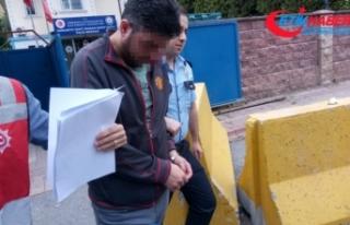 Genç kadını darp eden taksici tutuklandı