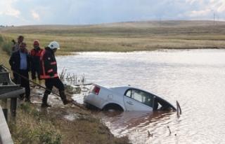 Otomobil su birikintisine devrildi: 4 ölü