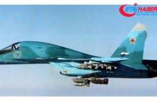 Rus uçakları İsrail F16'larını engelledi