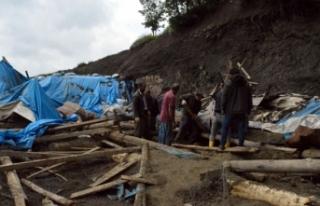 Şırnak'ta ahır çöktü; 82 hayvan telef oldu
