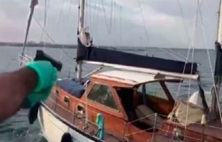 Teknede suçüstü yakalandılar!