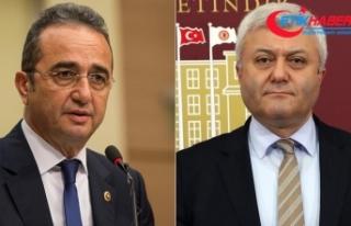 Tezcan ve Özkan'ın yumruklaştığı iddialarına...