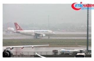 THY uçağına kuş çarptı; 2 uçak pisti pas geçti