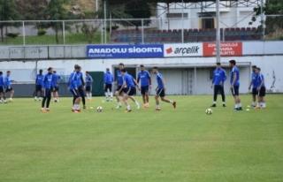 Trabzonspor'da 45 kişilik kadro