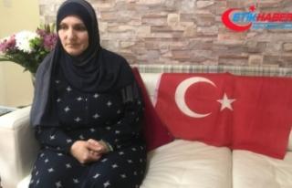 Türk bayrağını PKK'lılara vermeyen kahraman...