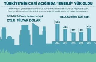 Türkiye'nin cari açığında 'enerji'...