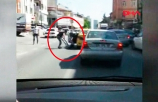 Yolcuyu taksiden atan şoför yakalandı
