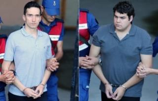 Yunan askerlerin tutukluluğuna devam kararı