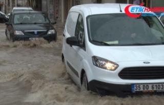 Yurt genelinde yağışlar etkili oldu