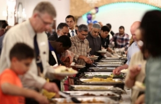 ABD'de iftar