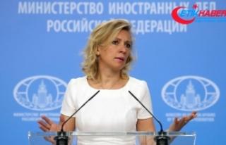 Amerikan sözcünün iddiasına Rusya'dan sert tepki